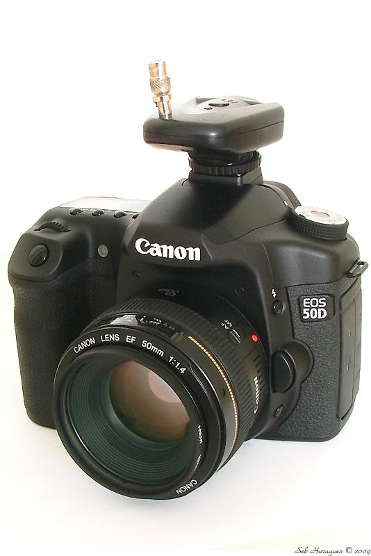 Canon EF 50mm f1.4 USM sur EOS 50D